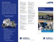 EFR 2013 Tri-Fold Brochure - TurboDriven.com