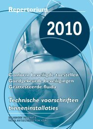 Repertorium Technische voorschriften binneninstallaties - Tmvw