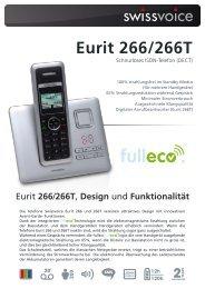 Eurit 266/266T - swissvoice