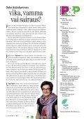 Väestöliitto 1•2012 Vappu Taipale on ylpeydellä vanha nainen ... - Page 2