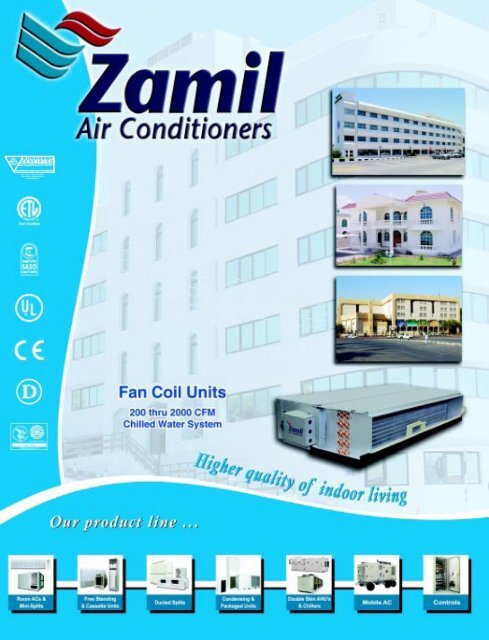 Chilled water Fan Coil Units - Zamil Air Conditioners