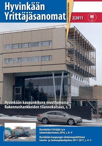 Hyvinkään Yrittäjäsanomat - Suomen Yrittäjät