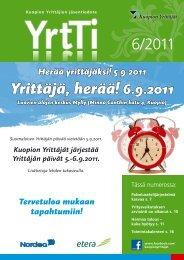 Yrittäjä, herää! 6.9.2011 - Suomen Yrittäjät