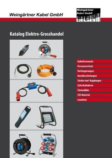 ansehen ... (als PDF) - Weingärtner Kabel GmbH