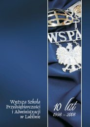 pobierz publikację - WSPA