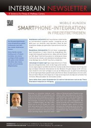 Download Newsletter - Interbrain AG
