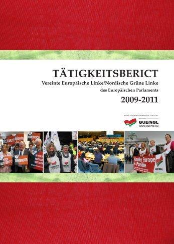 TÄTIGKEITSBERICT - GUE/NGL
