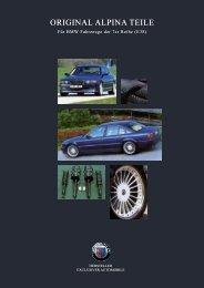 E38 Parts & Accessory - BMW Alpina