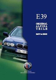 E39 Parts & Accessory - BMW Alpina