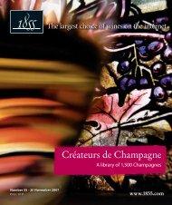 Créateurs de Champagne - 1855