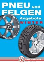 Pneu und Felgen - Winter 2012-13. - Auto Moser AG