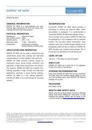DAPRO® DF 6800 - Elementis Specialties