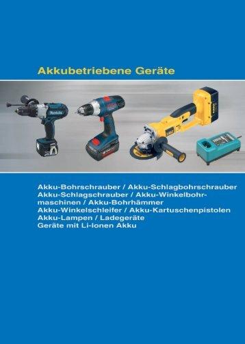 Akku-Bohrschrauber 12 Volt