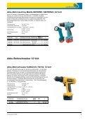 Akku-Bohrschrauber 12 Volt - Seite 3