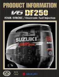 FOUR-STROKE / Electronic Fuel Injection - American Suzuki Motor ...