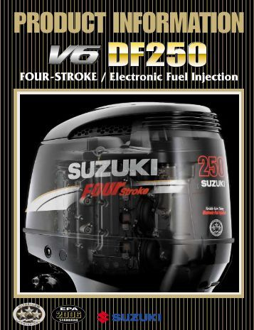 FOUR-STROKE / Electronic Fuel Injection - American Suzuki Motor ...