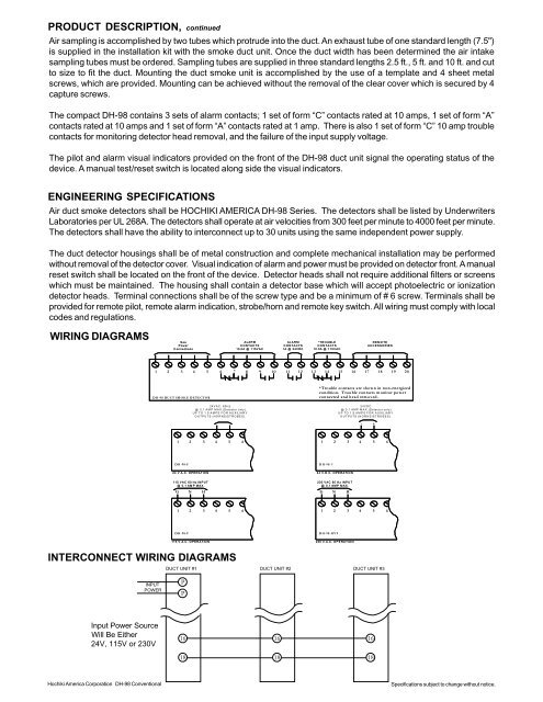 PRODUCT Duct Detector Power Wiring Diagram on duct detector power, duct hvac circuit, 4 wire smoke detector diagram, ductwork diagram, integra type r transmission diagram, bobcat zero diagram, smoke detector system diagram, toro zero turn parts diagram, duct detector alarm, duct detectors housings, duct damper diagram, fuse box diagram, duct detector installation requirements, centrifugal switch diagram, duct detector accessories, commercial hvac system diagram, smoke detector placement diagram,
