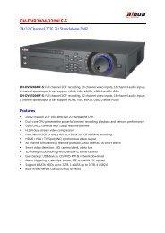 DH-DVR2404/3204LF-S - DAHUA Technology