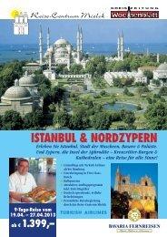 Istanbul mit Nordzypern im April 2013 - Reise-Centrum Mielck GmbH