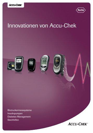 """Produktübersicht """"Innovationen von Accu-Chek"""""""