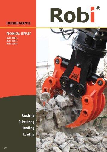 Crushing Pulverizing Handling Loading - Robi