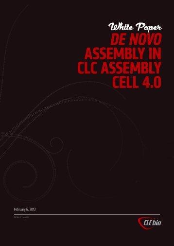 Download white paper on CLC de novo assembler - CLC bio