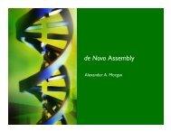 de Novo Assembly - Stanford AI Lab