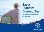 Bayer Diabetes Dolmetscher - Bayer-Diabetes-Blutzuckermessgerät