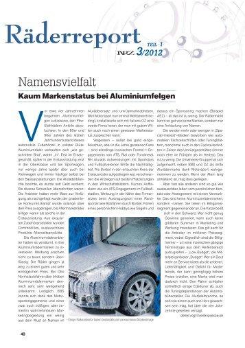 NEUE REIFENZEITUNG 3/2012, Seite 40-75 - Reifenpresse.de