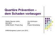 Quartäre Prävention - congress-info.ch | Home