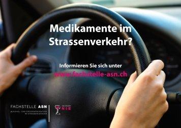 Medikamente im Strassenverkehr? - Fachstelle ASN