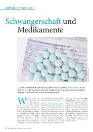 Schwangerschaft und Medikamente - Die PTA in der Apotheke