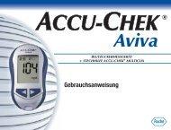 Accu-Chek Aviva Komplette Bedienungsanleitung deutsch