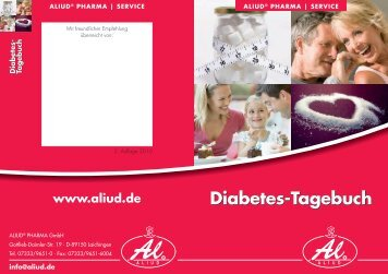 Diabetes-Tagebuch - Aliud Pharma GmbH & Co. KG