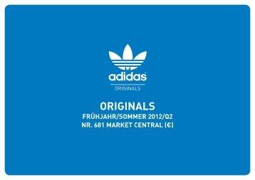 Segmentierung der adidas Originals Kollektion - SportXshop