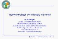 Diabetes mellitus Vorlesung - Interdisziplinäres Stoffwechsel-Centrum