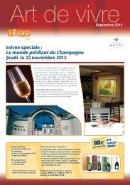 Le monde pétillant du Champagne 90€