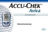Accu-Chek Aviva Gebrauchsanweisung [PDF ... - Tierdiabetes-shop