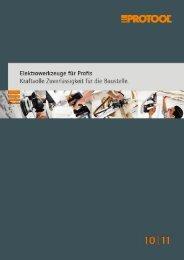 Protool Katalog - E.W. NEU GmbH