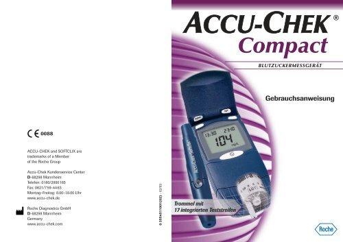 Accu-Chek Compact Gebrauchsanweisung - PDF-Dokument