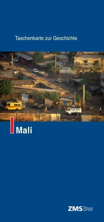 Taschenkarte zur Geschichte – Mali - MgFa