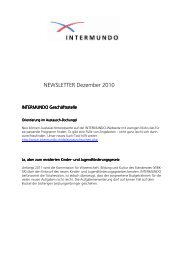 NEWSLETTER Dezember pdf 2010 - Intermundo