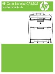 HP Color LaserJet CP3505 User Guide - DEWW
