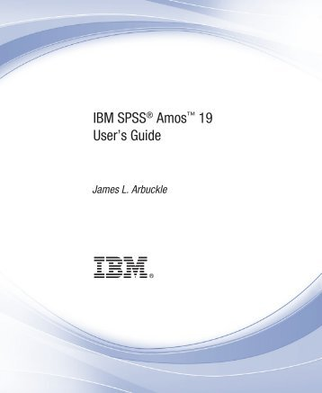 IBM SPSS Amos 19 User's Guide - FTP Directory Listing