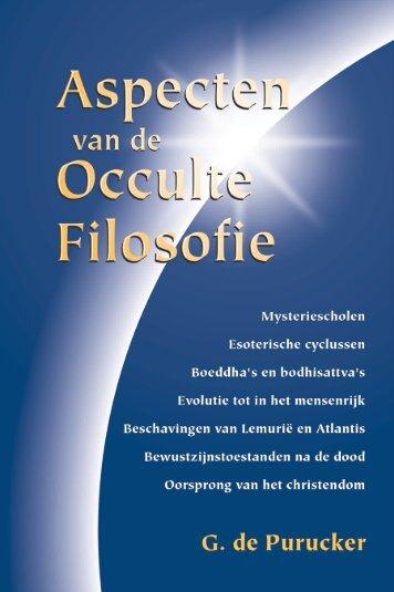 Aspecten van de occulte filosofie - Theosofisch Genootschap ...