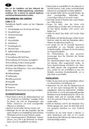 BESCHREIBUNG DES GERÄTES (siehe S. 3 ... - De Longhi Service