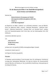 Nutzungsvereinbarung für die Nutzung der Bäder in der Stadt ...