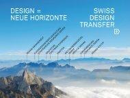 Referat von Prof. Claudia Acklin / Was kann Design