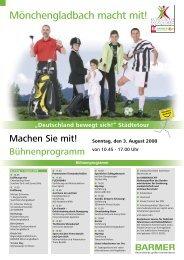 Mönchengladbach macht mit! - Stadtsportbund Mönchengladbach e.V.