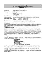 Ausschreibung SMS Sportschießen - Stadtsportbund ...